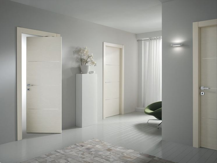 Porte interne erre effe for Designer interior doors uk